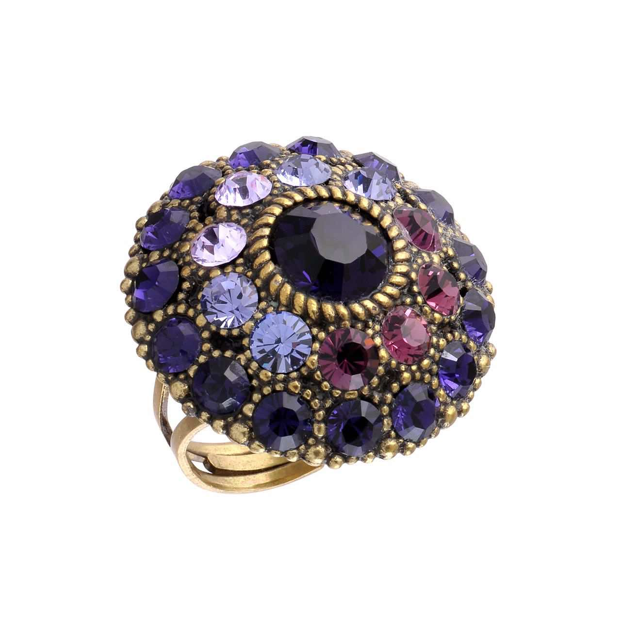 Michal Negrin Purple Round Ring