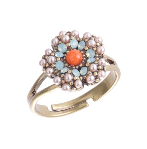 Michal Negrin Small Floral Ring