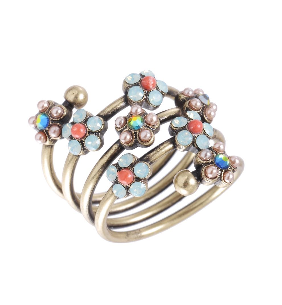 Michal Negrin Spiral Ring