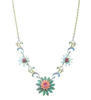 Michal Negrin Flower Necklace 166720-003 Buy Online