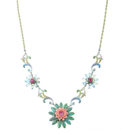 Michal Negrin Flower Necklace 166720-003 Buy Online