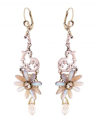 Michal Negrin Pastel Floral Earring