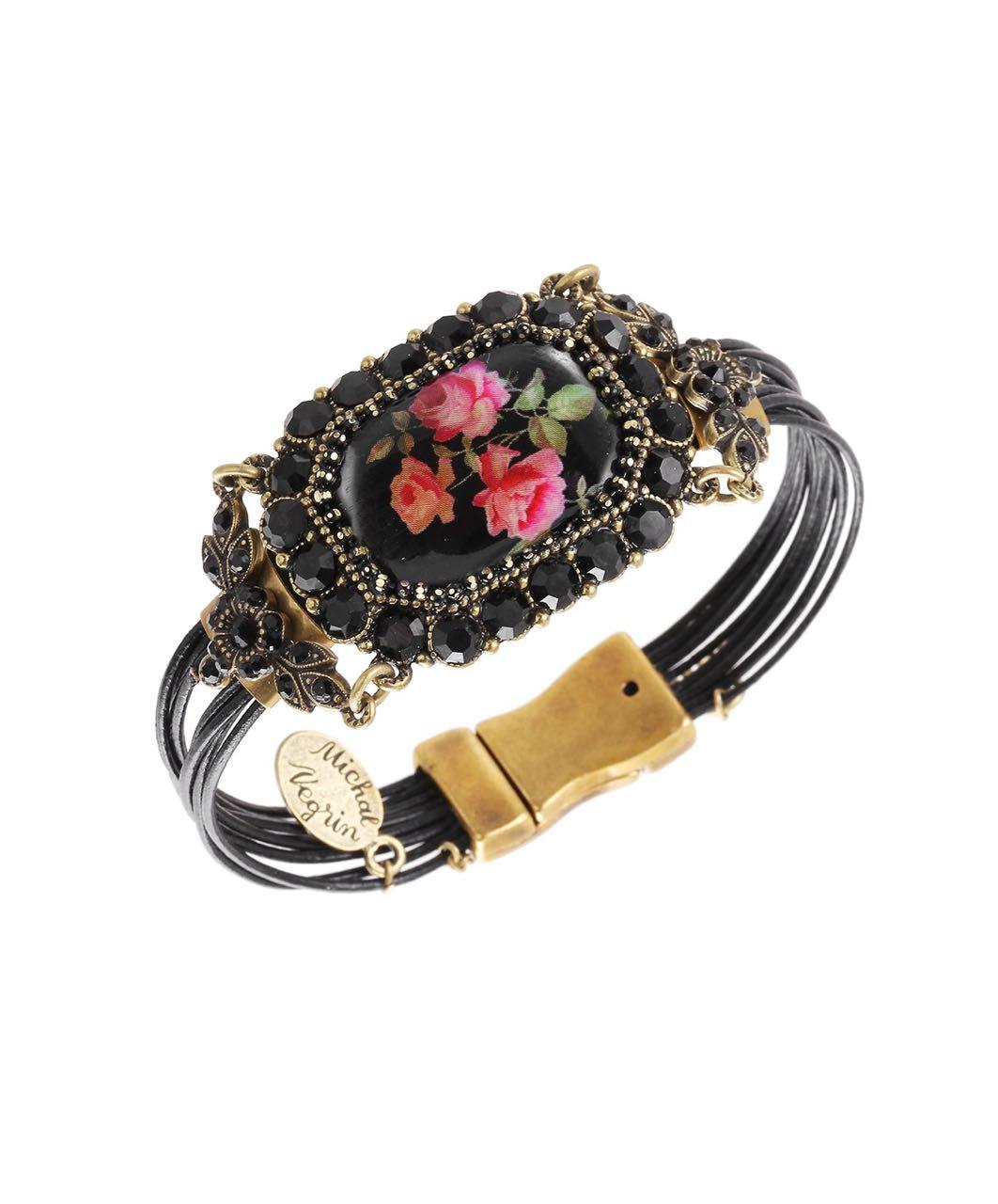 Michal Negrin Zagreb Bracelet, Black