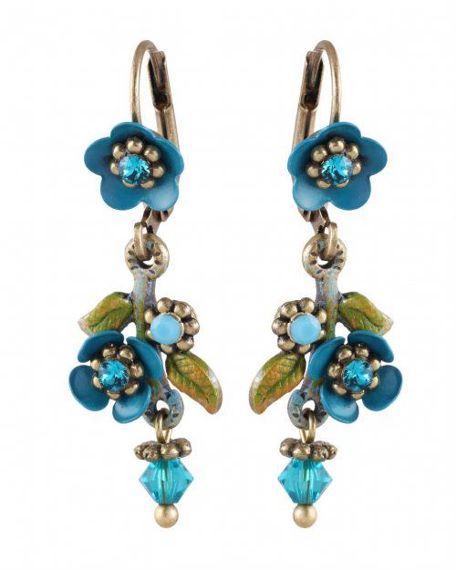 Michal Negrin Floral Earrings