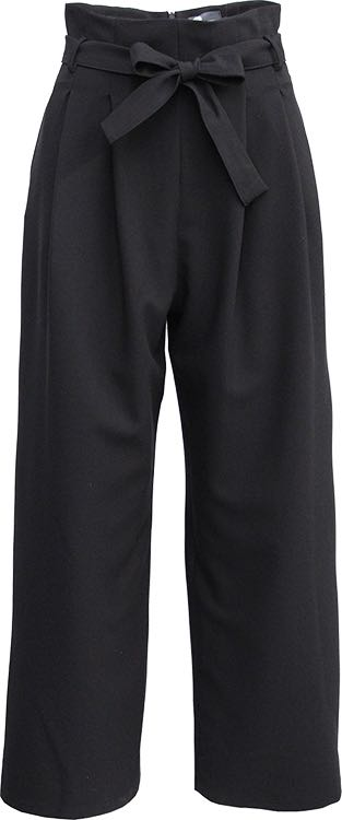 M Made in Italy Black Woven Pants11/36531H Buy Online