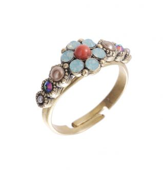 Michal Negrin Floral Small Ring