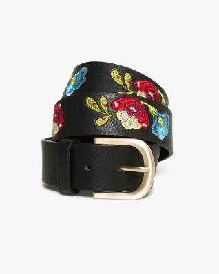 17WARP22_2000 Desigual Belt Embroidered Caribou Buy Online