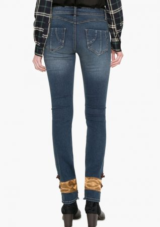 Desigual Jeans with Ankle Design