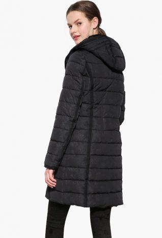 17WWEW47_2000 Desigual Coat Pisa Black Canada