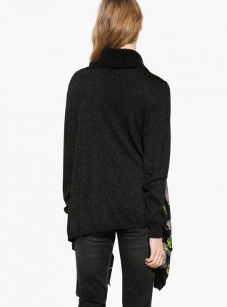 17WWJF40_2000 Desigual Sweater Anna Black Canada