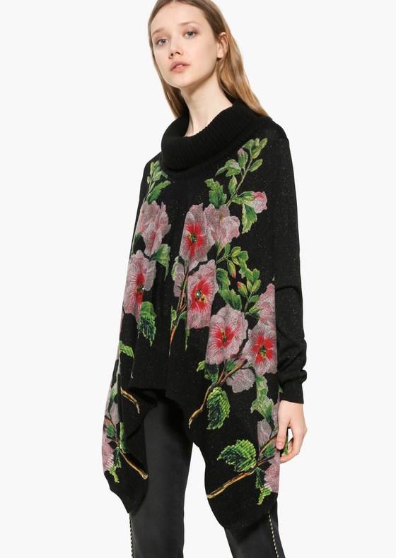 17WWJF40_2000 Desigual Sweater Anna Black Buy Online