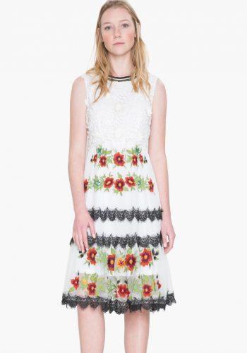 17WWVK30_1001 Desigual Dress Scalet Buy Online