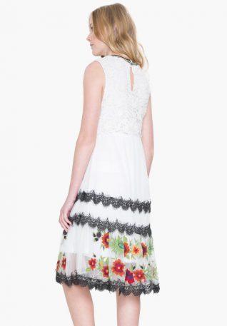 17WWVK30_1001 Desigual Dress Scalet Canada