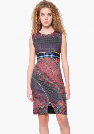 17WWVKA4_3169 Desigual Dress Trueno Buy Online