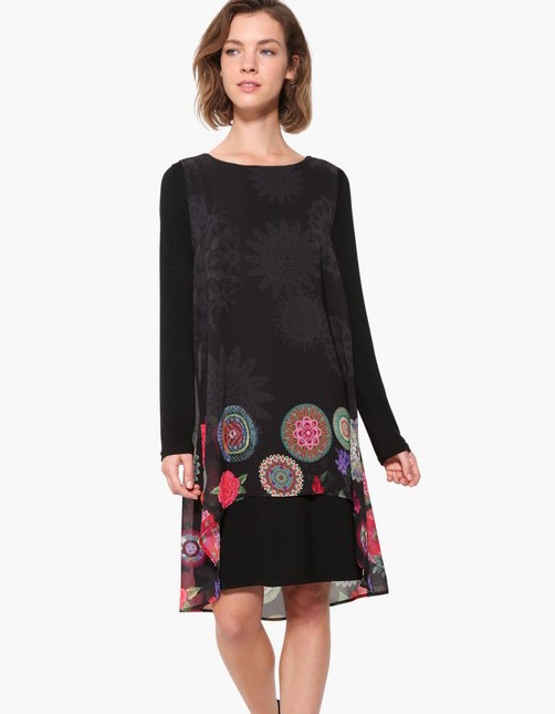 17WWVWA1_2000 Desigual Dress Kerowac Buy Online
