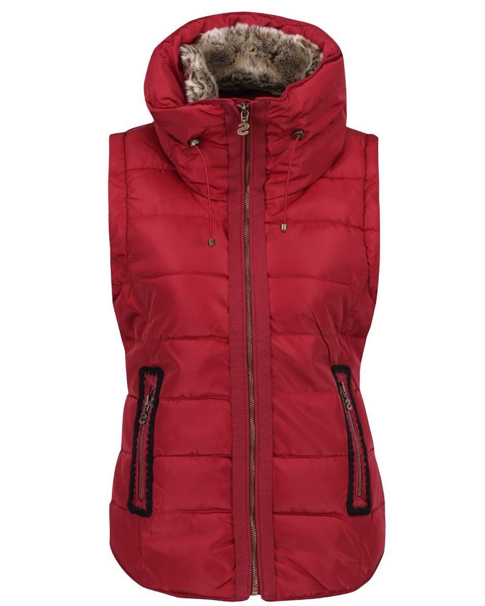 Desigual Jacket Salva Vest Red