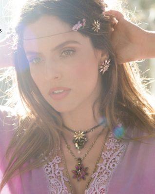 Michal Negrin Necklaces Earrings Model