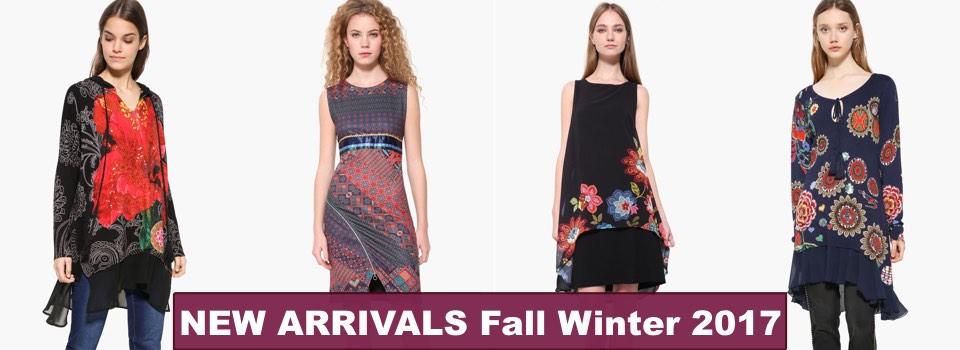 Desigual Fall Winter 2017 Collection, Canada