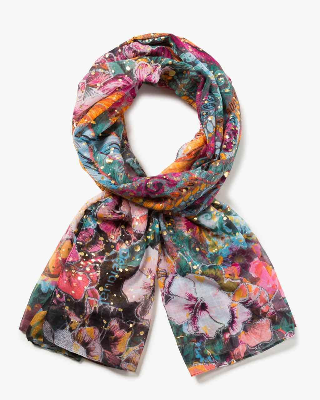 17WAWFA5_3070 Desigual Scarf Rectangle Freya Buy Online