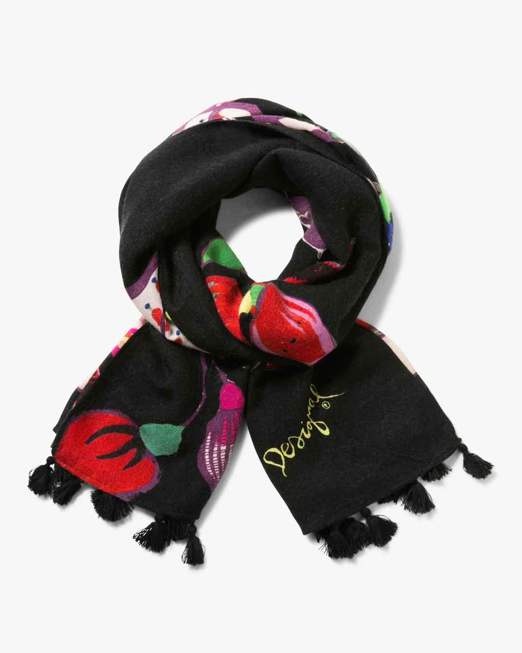 17WAWFD7_5096 Desigual Scarf Rectangle Carson Buy Online