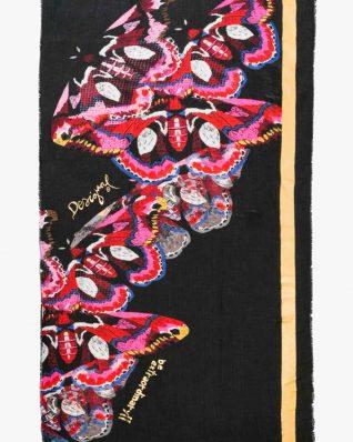 17WAWFD8_3058 Desigual Scarf Polilla Roja Canada