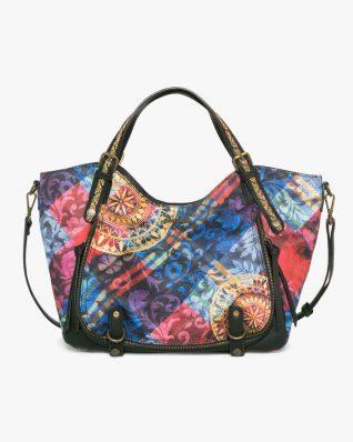 17WAXFA1_3147 Desigual Bag Rotterdam Transflores Buy Online
