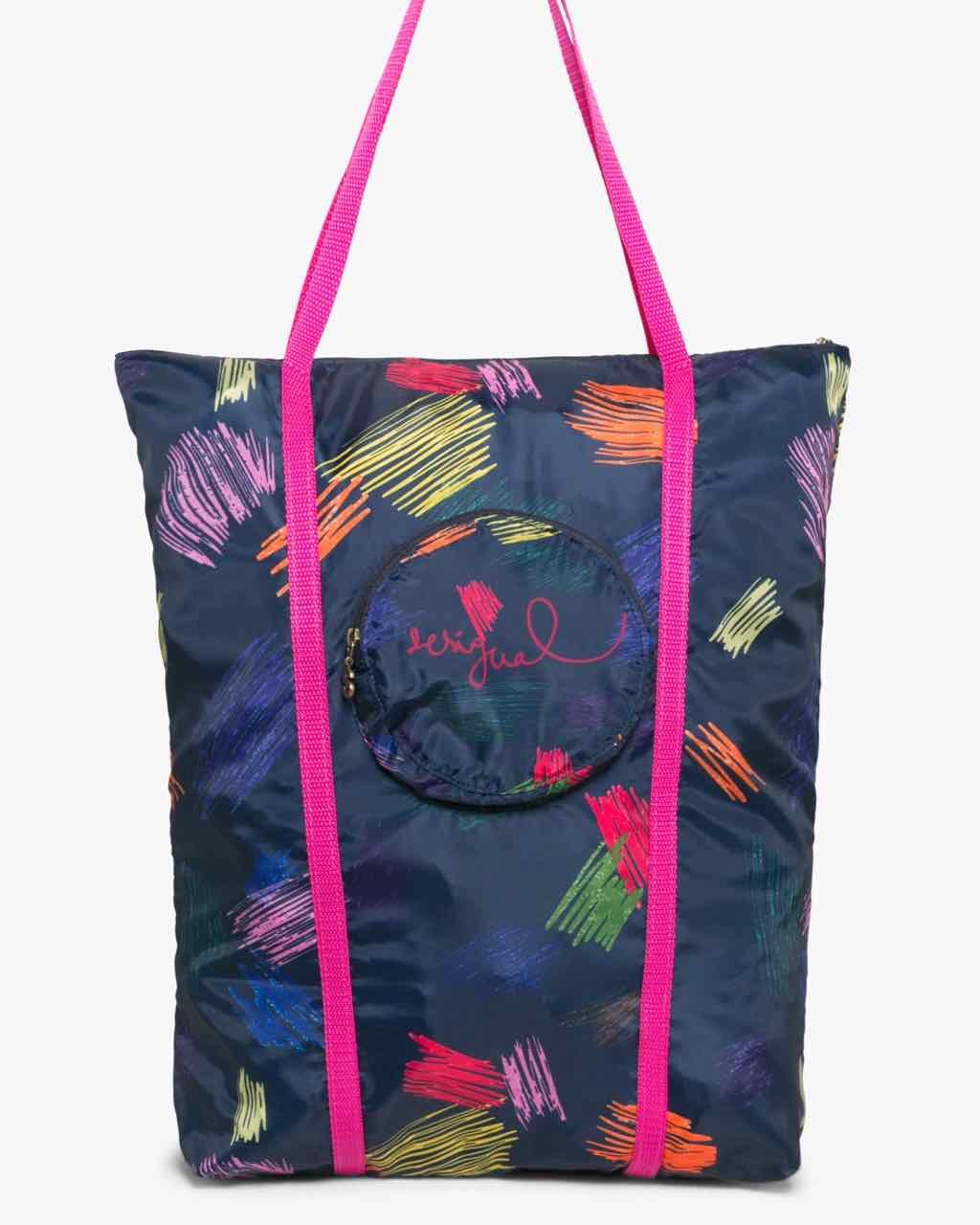 17WAXFFG_3089 Desigual Bag Shopping Ball Rayotes Buy Online