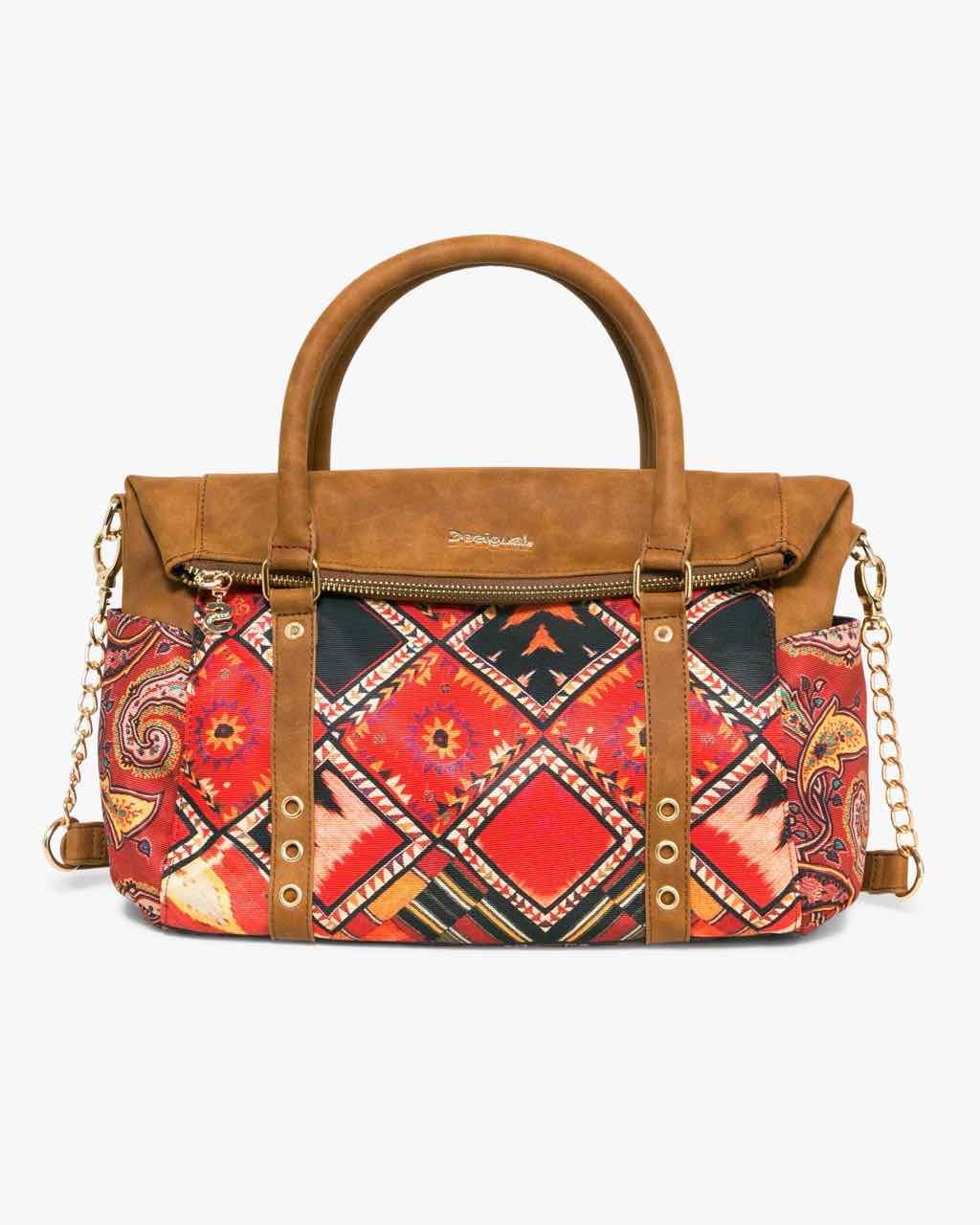 17WAXFWF_6000 Desigual Bag Loverty Boho Buy Online