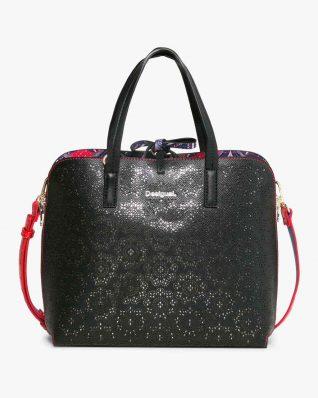 17WAXPTH_2000 Desigual Bag Hamar Birmania (black) Buy Online