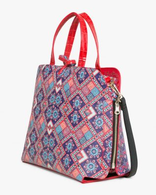 17WAXPTH_3000 Desigual Bag Hamar Birmania (red) Canada
