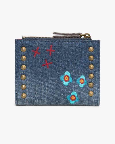 17WAYDDM_5006 Desigual Wallet Two Zips Jade Canada