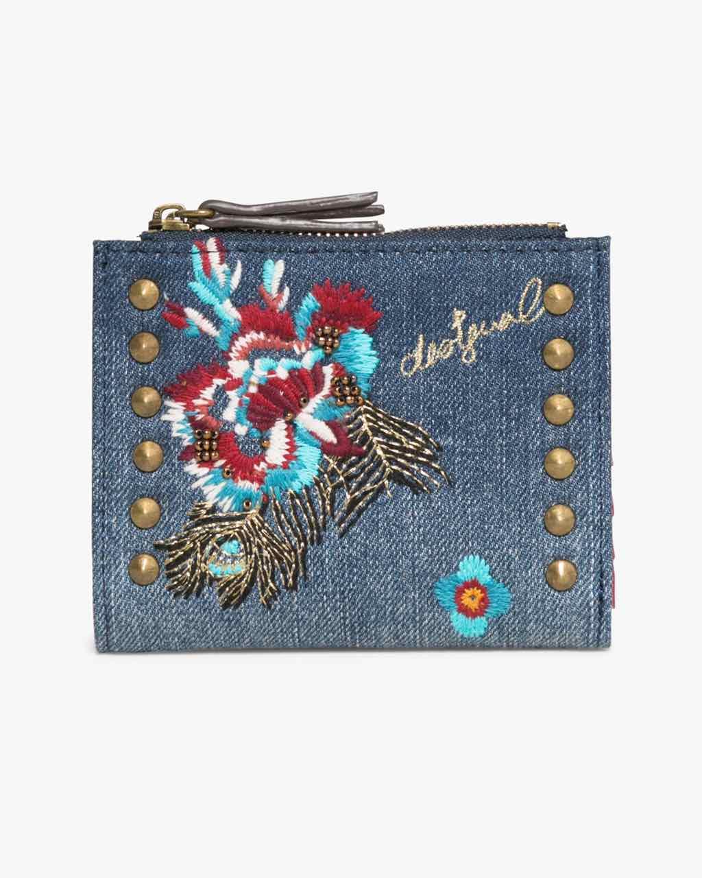 17WAYDDM_5006 Desigual Wallet Two Zips Jade Buy Online