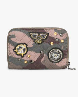 17WAYFBK_4087 Desigual Wallet Nuria Military Parches Canada