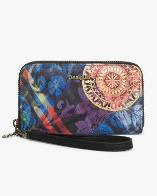 17WAYFGQ_3147 Desigual Wallet Mini Zip Transflores Buy Online