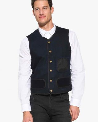 17WMEW59_5189 Desigual Men Vest Adri Buy Online
