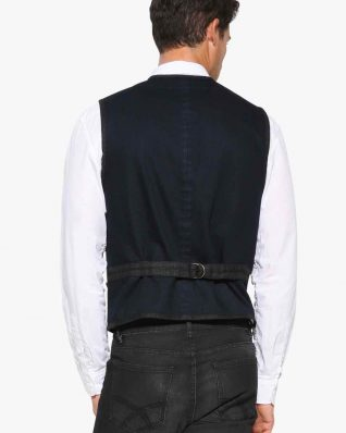 17WMEW59_5189 Desigual Men Vest Adri Canada