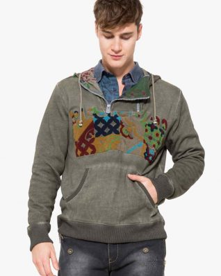 17WMSK23_2042 Desigual Men Sweater Look Buy Online