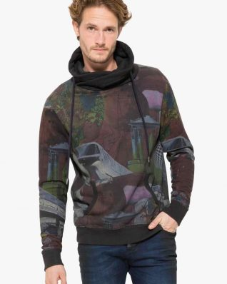 17WMSK24_2000 Desigual Man Sweater Mimos Buy Online
