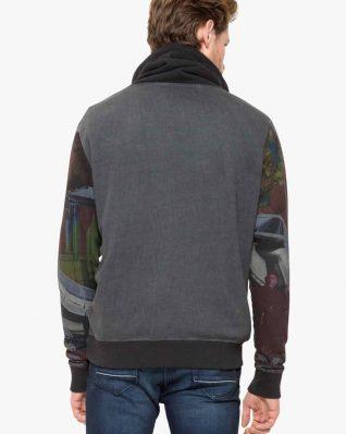 17WMSK24_2000 Desigual Man Sweater Mimos Canada