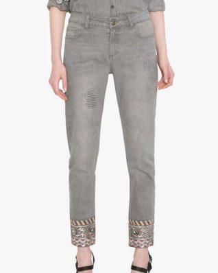 Desigual Grey Jeans Chelsea