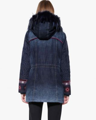 Desigual Denim Winter Jacket