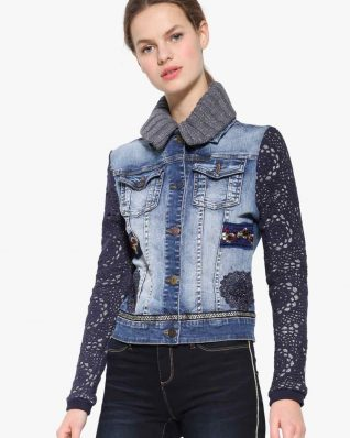 Desigual Exotic Crochet Jacket