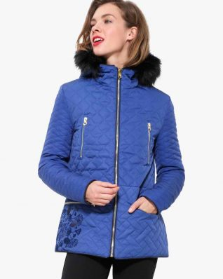 17WWEWJ6_5010 Desigual Coat Fran Buy Online