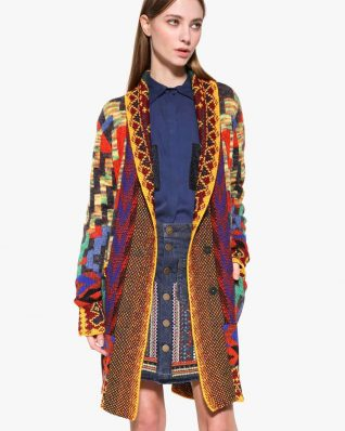 Desigual Cielo Long Sweater