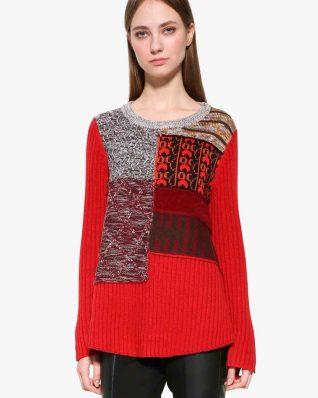 Desigual Red Sweater