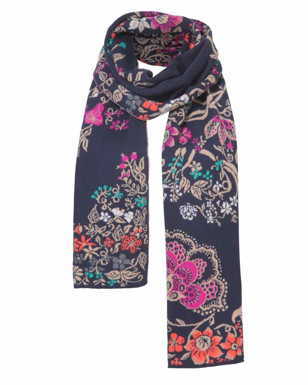 Ivko Scarf Floral Pattern 72555 039 Buy Online