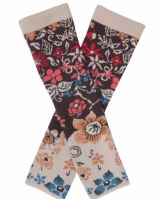 Ivko Pullwarmers Floral Pattern 72557 025 Buy Online