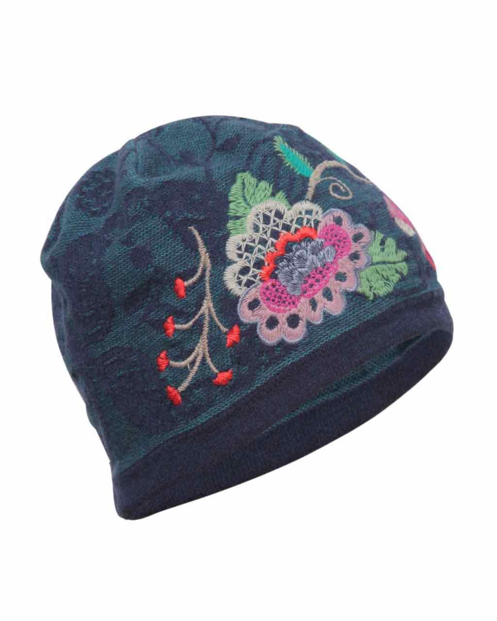 Ivko Cap Floral Pattern 72570 039 Buy Online