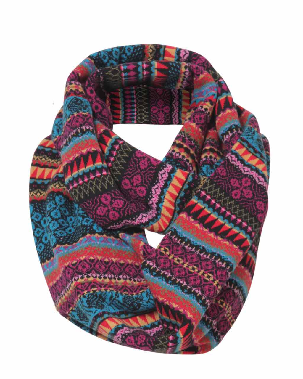 Ivko Snood Geometric Pattern 72653 019 Buy Online