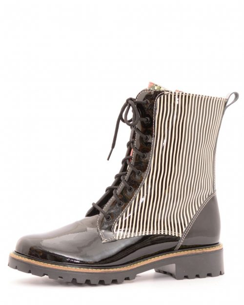 Mael Stripes Design Boots